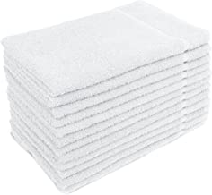 Altima Plus Bleach Safe Salon Towels, White, Pack of 12