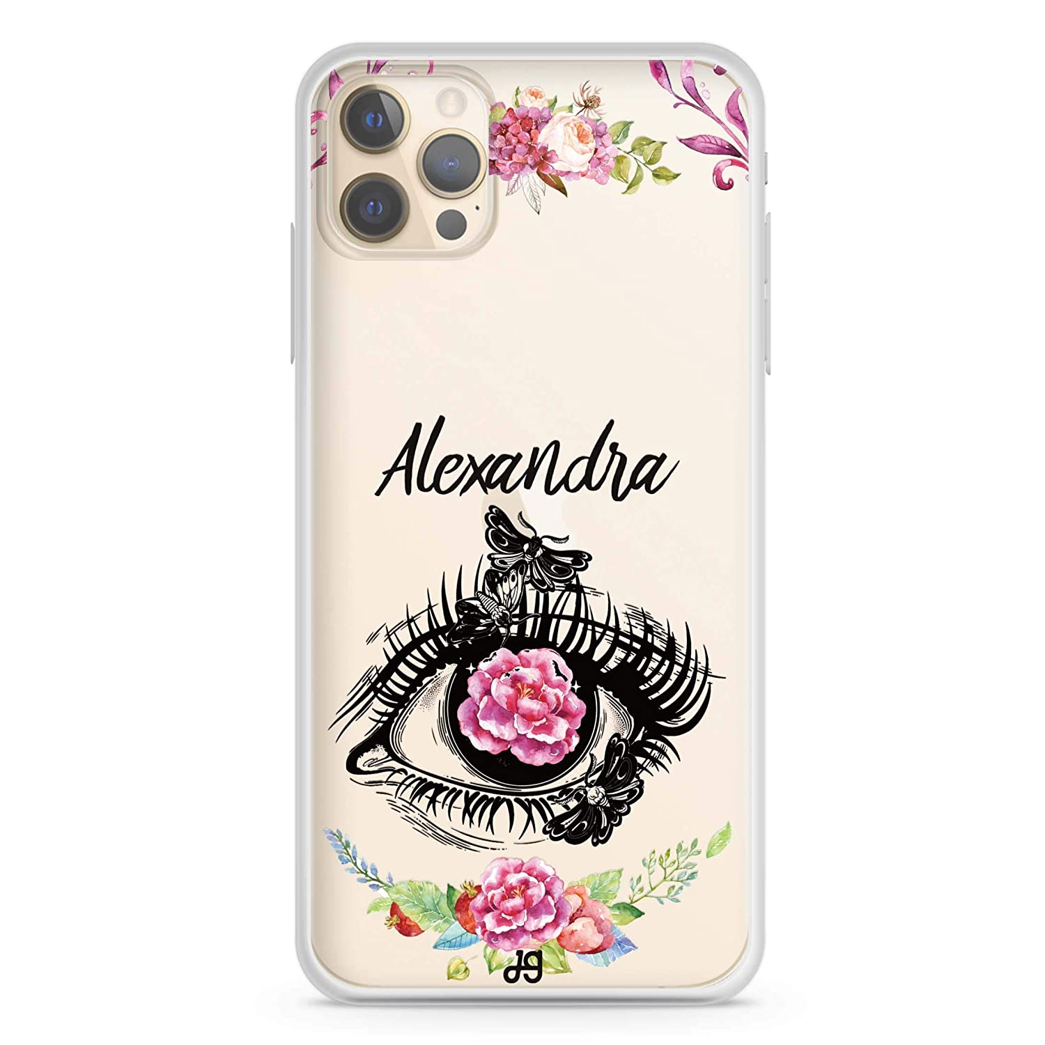 Flower in Direct store Eye iPhone 12 Pro iPho New life Max Case Soft Clear