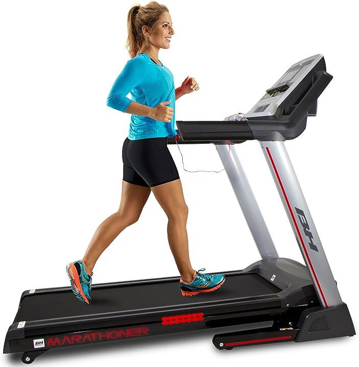 Tapis roulant - elettrico - pieghevole fitness marathoner g6458rf  bh fitness