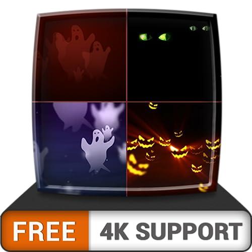 Happy Halloween HD gratis: disfruta del tema aterrador en tu televisor HDR 4K, TV 8K y dispositivos de fuego como fondo de pantalla, decoración para las fiestas de Halloween, tema para la celebración