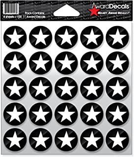 Award Decals Star (100 Stickers)