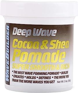 WaveBuilder Cocoa & Shea Pomade | Super Smooth & Rich Formula Promotes Healthy..