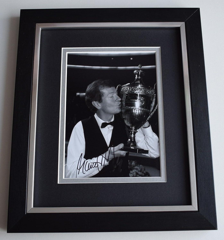 Sportagraphs Steve Davis SIGNED 10x8 FRAMED Photo Autograph Display Snooker AFTAL COA PERFECT GIFT