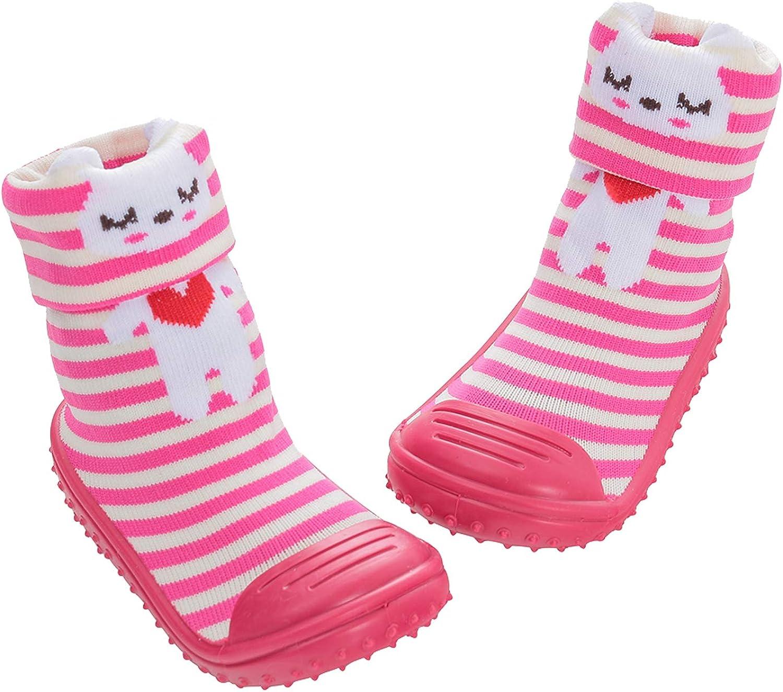 Floor Socks with Soft Rubber Bottom Infant Anti Slip