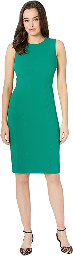 Sheath Dress with Side Seams CD8M44JN
