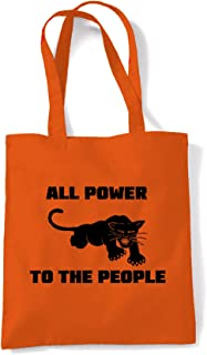 Tribal T-Shirts Women's Panther Party All Power To The People Tote Shoulder Bag