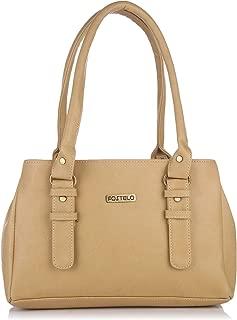Fostelo Women's Westside Handbag (Beige) (FSB-413)