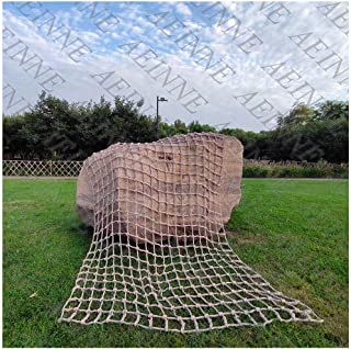 Cargo Climbing Net,Climbing Cargo Net Rope Netting Playground Rock Rope Ladder for Kids Outdoor Play Safety Swing Sets Cli...