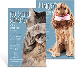 School Nutrition Posters | Cat and Dog Nutrition Poster Set | 11