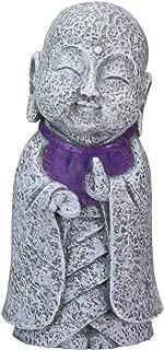 Ksitigarbha Jizo Ojizo Sama Japanese Figure, Purple