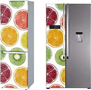 DON LETRA Vinilos para Neveras y Fricoríficos | Frutas | Pegatina Decorativa de Vinilo Adhesivo Impermeable y Resistente 185 x 60 cm