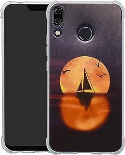 HHDY Asus Zenfone 5Z Case,[Ultra Lightweight] Reinforced [4-Corners Bumper] Flexible TPU [Pattern Design] Cover for Asus Zenfone 5 / Zenfone 5Z (6.2