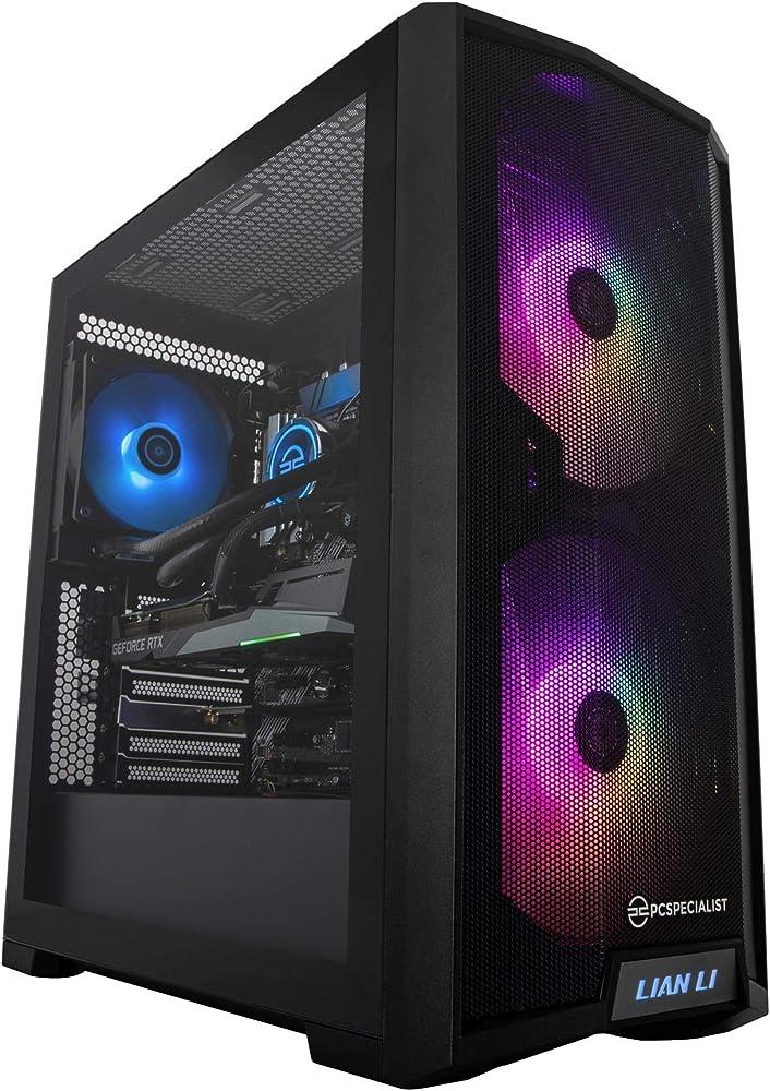 Pcspecialist pro pc fisso gaming - intel® core™ i7- geforce rtx 3060 ti 8 gb 8-core 16 gb ram 1 tb m.2 ssd PRO_I7_11K_3060TI