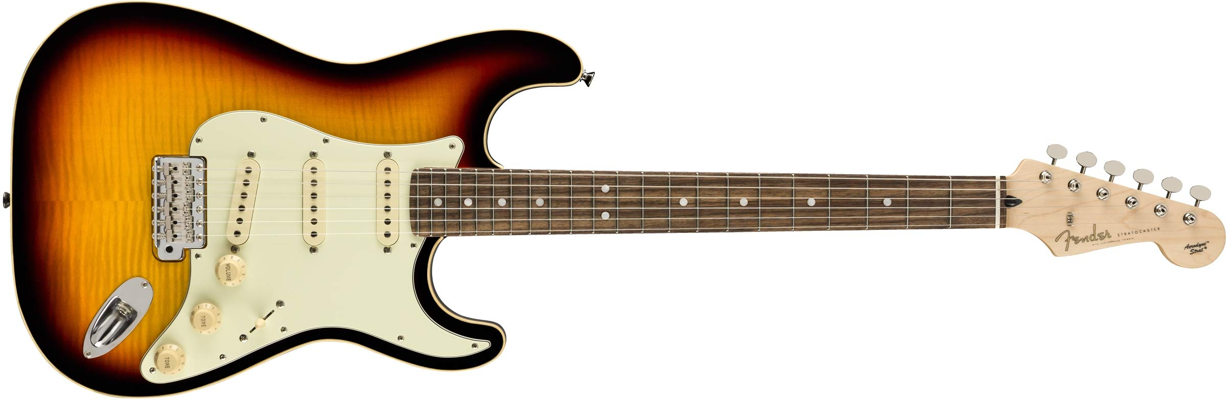 Cheap Fender Limited Edition Aerodyne Classic Flame Maple Top Stratocaster Electric Guitar (3-Color Sunburst) Black Friday & Cyber Monday 2019