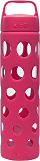 Ello Pure Glass Water Bottle with Silicone Sleeve