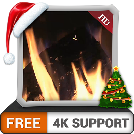 FREE Romantic Fireplace Ambiance HD - Enjoy the Cooled Christmas Holidays...