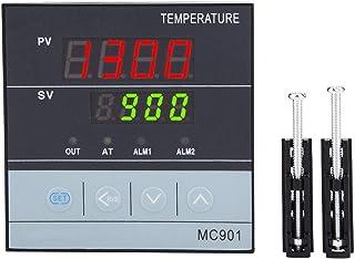 Cyfrowy regulator temperatury PID MC901, wyjście przekaźnika/SSR, bardzo czuły radiator termostatyczny, 85-265 V, wskaźnik...