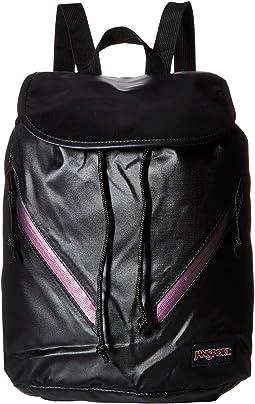 Black/Iridescent Zip