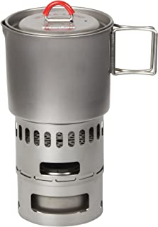 Evernew Titanium Mug Pot 500 Stove Set RED ECA268R