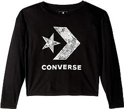 Oversized Star Chevron Top (Big Kids)