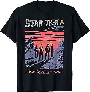 Explore Strange New Worlds Fan Art Graphic T-Shirt
