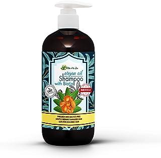Argan Oil & Biotin Shampoo | Professional Strength Formula | Natural Hair Repair, Moisturization Treatment for Dry, Damage...