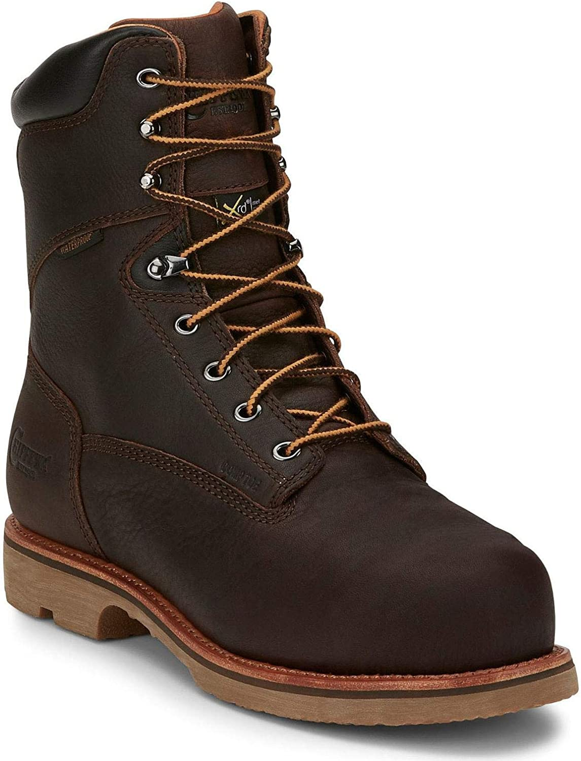 Max 82% OFF Chippewa Men's Serious Plus Waterproof Boot Work Composite High quality Toe