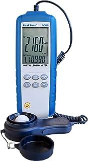 Peaktech 5086 - Medidor Digital de luz LED (3 3/4 dígitos)