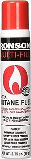 Ronson 99146 2 Large Lighter Butane Refill 78 Grams 2.75 Ounce (Pack of 2)