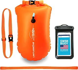 LimitlessXme Swim Buoy & Drybag - for Swimmers, Open...