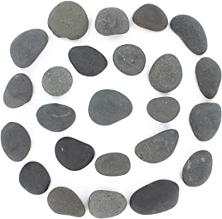 Rocks for Painting - Flat & Smooth Kindness Rocks for Arts, Crafts, and Decoration - Stones w/Easy Paint Surface - 2 to 3....