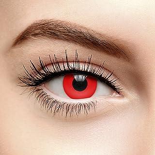 Halloween Gekleurde Contactlenzen Zonder Sterkte Blood Rood (Daglenzen)