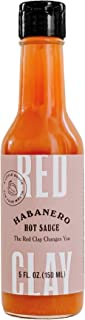 Red Clay Habanero Hot Sauce — Barrel-Aged Southern Hot Sauce, Habanero Pepper with Hint of Citrus, 5 fl oz Bottle