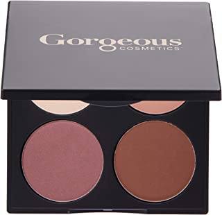 Gorgeous Cosmetics All In One Hazel Eyes Eyeshadow Palette for Women, 15.2g