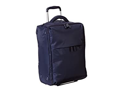 Lipault Paris 0% Pliable 22 Upright (Navy) Carry on Luggage
