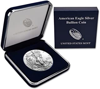 2014 Silver Eagle In US Mint Gift Box $1 Brilliant Uncirculated