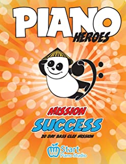 Piano Heroes: 20 day Bass Clef Mission