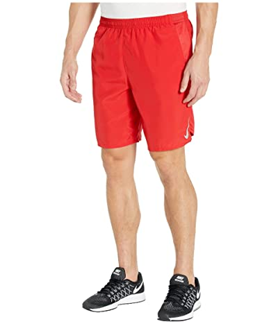 Nike Challenger Shorts 9 BF (University Red/Reflective Silver) Men