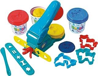 PlayGo Dough Press (3 x 150ml Dough Included)