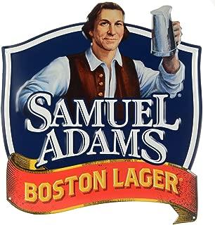 Samuel Adams Boston Lager Metal Wall Tacker