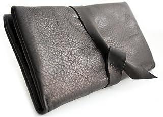 Portafoglio CRIS, portafoglio in pelle di colore nero, portafoglio da donna, portafoglio personalizzato con iniziali. Cris...