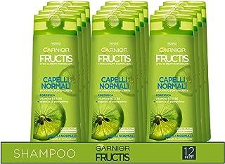 Garnier Multi Pack Fructis Shampoo per Capelli Normali, Concentrato Attivo di Frutti, Capelli Forti e Brillanti, 250 ml, C...