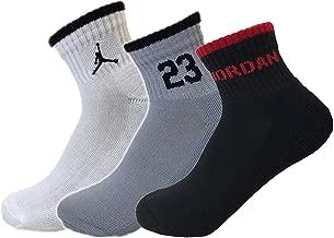 Nike Air Jordan Mens 3PK Quarter Socks