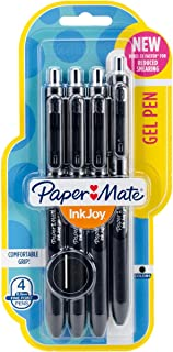 Paper Mate Inkjoy Gel Pens Fine Point Fine Point 4-Pack