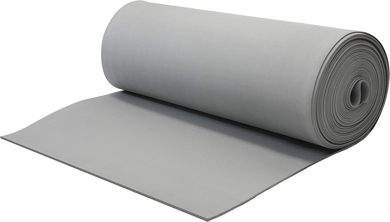VViViD Grey NonSlip ShockAbsorbing Foam Exercise Floor Mat