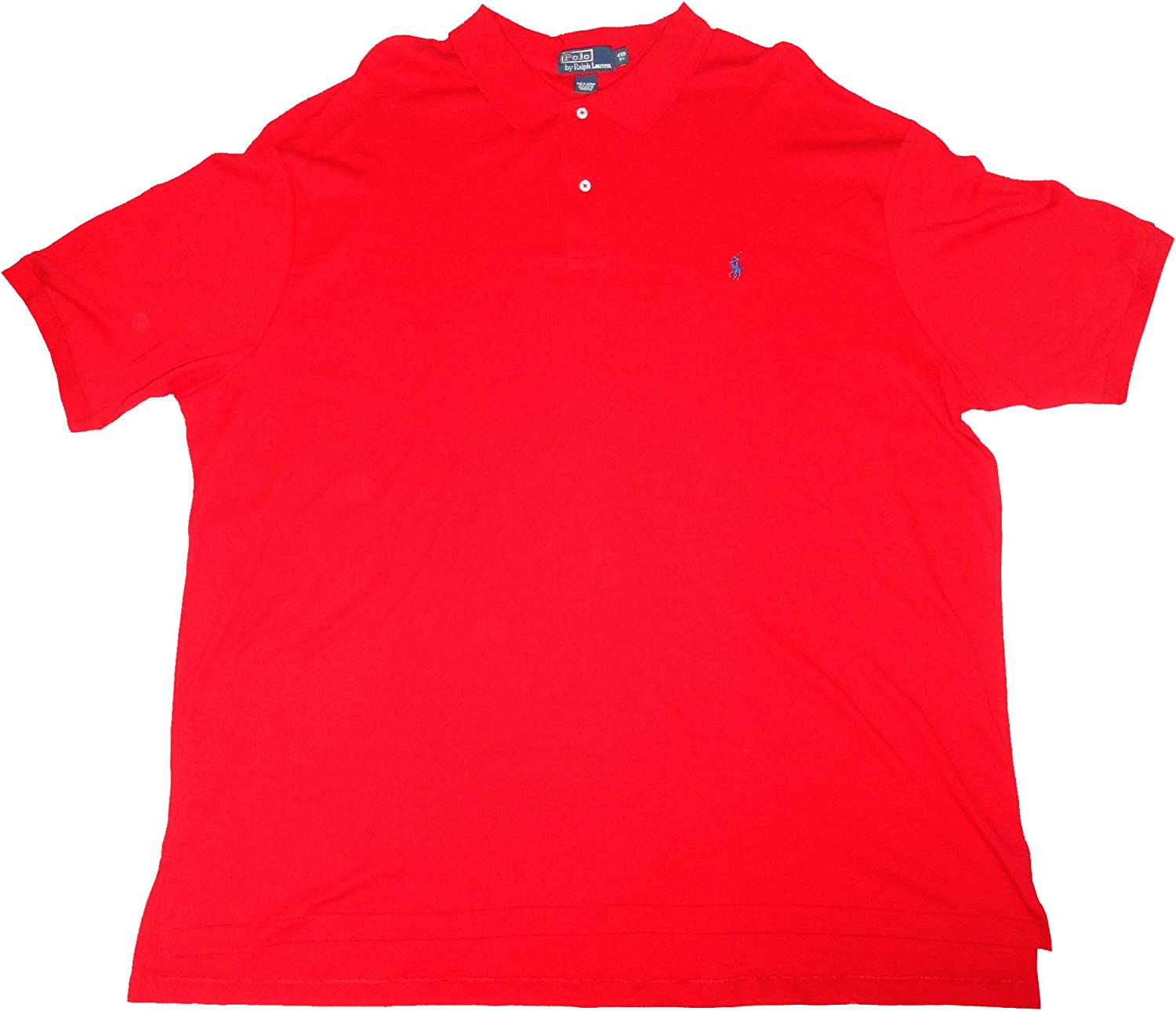 Polo Ralph Lauren Men's Large Pullover Shirt, Size 4XBl, Red