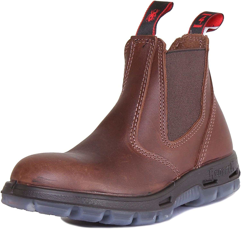 röd Back Ubjk herr läder Matt bspringaaa Ankle stövlar stövlar stövlar  Fri frakt på alla beställningar