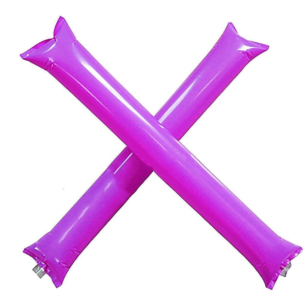 ゴール摘むオーバーフローInflatable Cheer Spirit Sticks応援Sticks価格/ 24ペア)