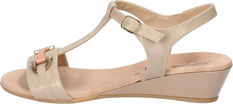 FASCINO women Sandals Womens Leather Beige