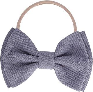 Kewl Fashion Baby Girl's Toddler 5 Inch Soft Bow-knot Nylon Hairband Headband Headdress